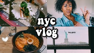 Nyc Vlog: Weekend In Nyc, Getting Bad Bunny Tickets And Making Kimbap