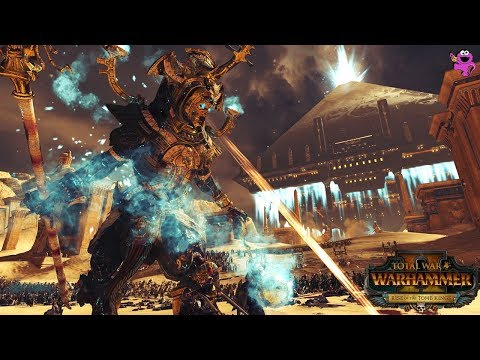 Total War Warhammer 2 Epic Tomb Kings Gameplay - All Tomb Kings Lords