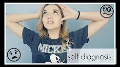 self diagnosis   depression, anxiety, ocd