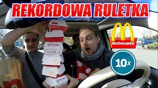 SPECIAL MCDONALD'S RULETKA CHALLENGE x10