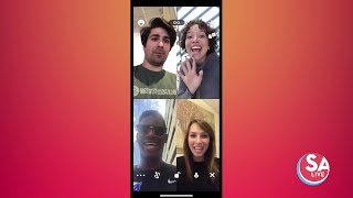 Staying connected with the 'Houseparty' app | SA Live | KSAT12
