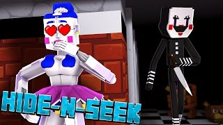 BALLORA LOVES PUPPET Minecraft FNAF Sister Location HIDE N SEEK
