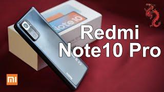 REDM  NOTE 10 PRO ПОДРОБНАЯ распаковка и сравнение ШИМ с Redmi Note 10