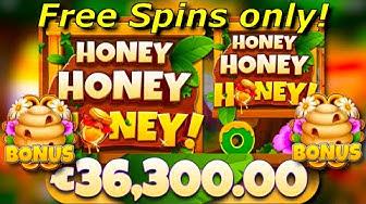 x363 win / Honey Honey Honey free spins compilation!