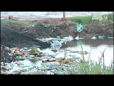 VTC14_Nam Định: Ô nhiễm làng nghề - hàng chục ha đất bỏ hoang
