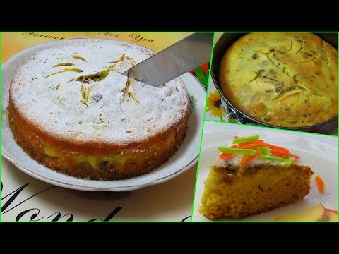 How To Make Simple Cottage Cheese Cake With Apples - Quick & Easy Homemade Recipe Tutorial
