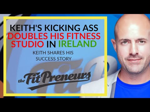 Keith Doubles his fitness studio in ☘️Ireland☘️