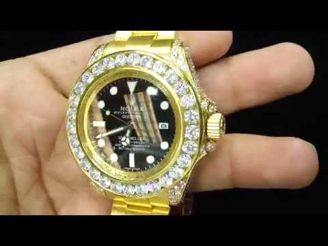 Design Your Watch Top to Bottom only At Master of Bling