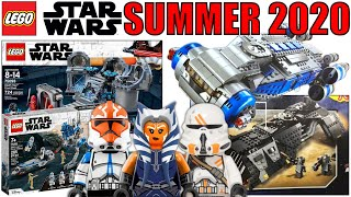 NEW LEGO STAR WARS SUMMER 2020 SET PICTURES! (AHSOKA, 332nd Clone, NO Cody, Night Buzzard, & MORE!)