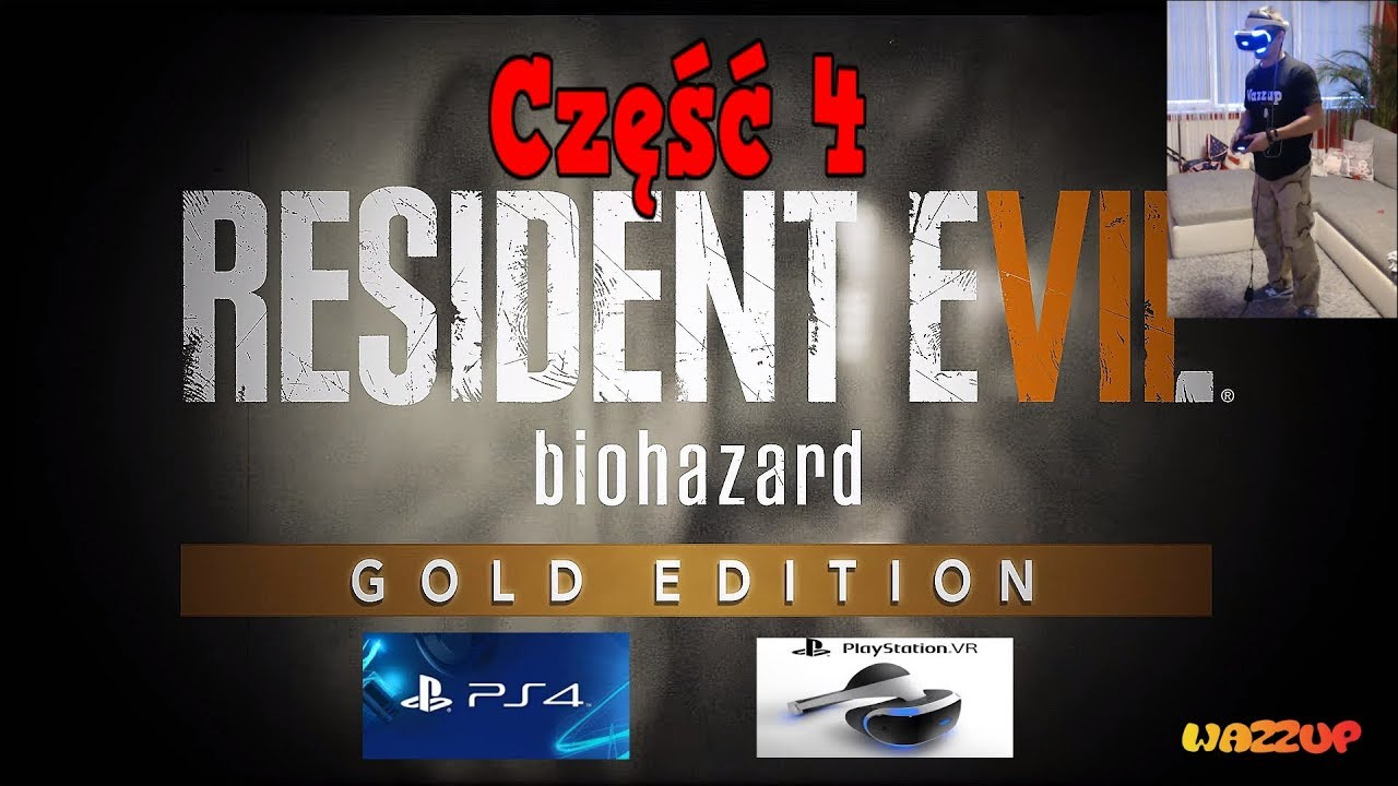 Resident Evil 7 biohazard okulary VR część 4 Wazzup :)