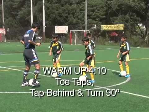 تدريب براعم كرة القدم