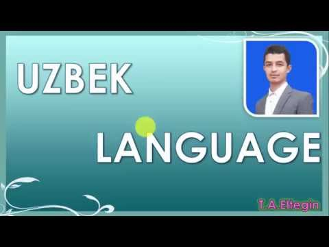 Learning Uzbek Language consonants