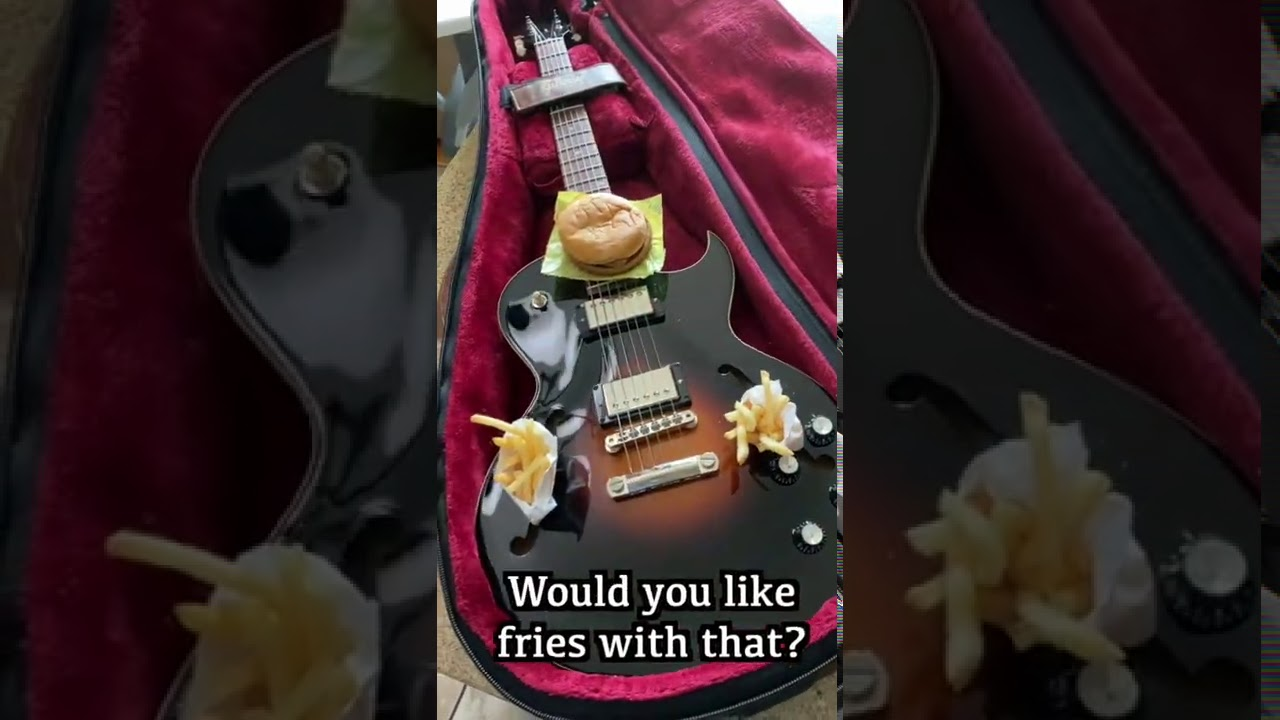 What Does a Guitar Player Say When He Gets to His Gig? | Guitar Jokes #shorts