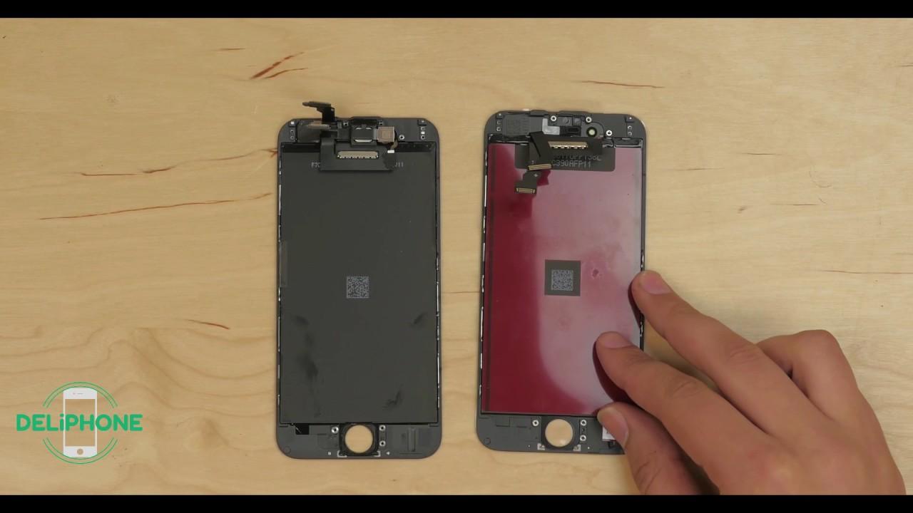 mörkare skärm iphone