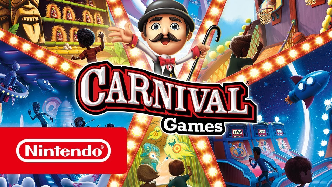 Carnival Games Trailer Nintendo Switch Youtube