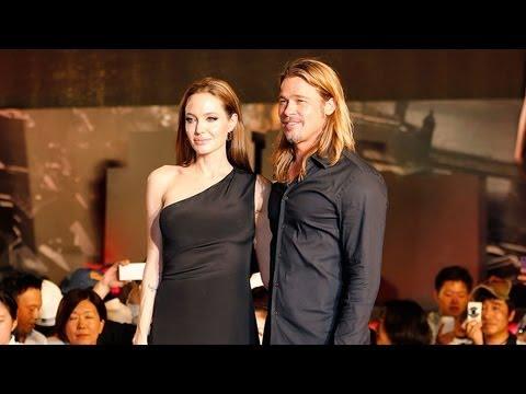 Brad Pitt and Angelina Jolie at Tokyo World War Z Premiere | POPSUGAR News