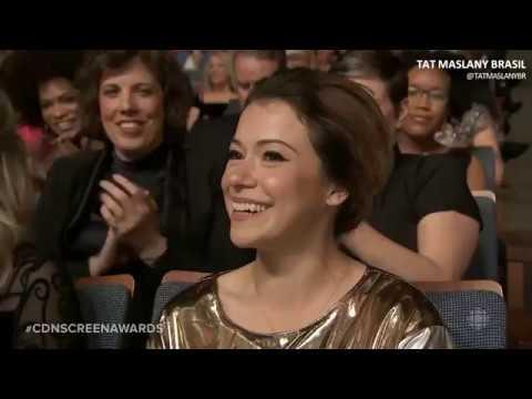 LEGENDADO Tatiana Maslany at the 2018 Canadian Screen Awards
