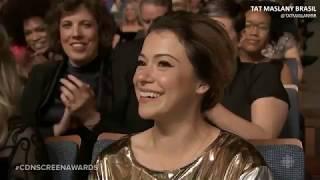[LEGENDADO] Tatiana Maslany at the 2018 Canadian Screen Awards