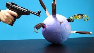 Wie zerstört man einen unzerstörbaren Ball? Experiment | Maladez TM