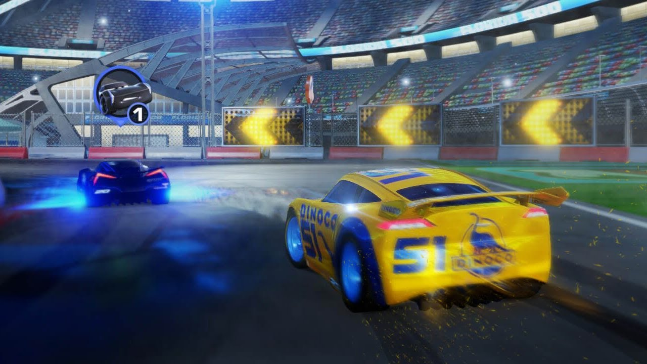 Cars 3 Driven To Win Race Wii U Gameplay Youtube
