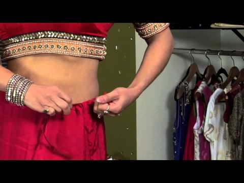 How to Wear Sari Skirts : Sari Style thumbnail