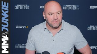DWCS 18: Dana White full post fight media scrum