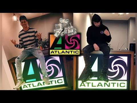 MILLION DOLLAR DEAL WITH ATLANTIC RECORDS