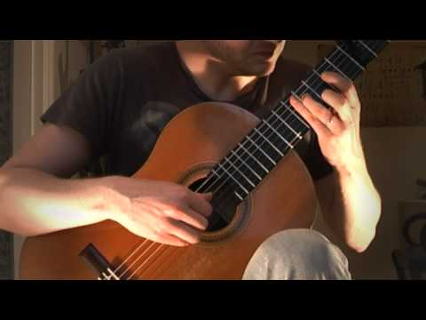 Michael Nyman - The Heart Asks Pleasure First (Acoustic Classical Guitar Cover by Jonas Lefvert)