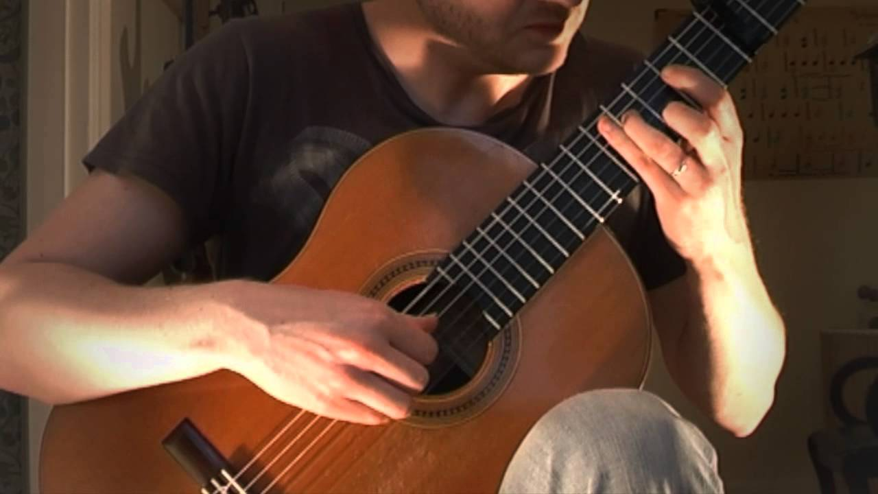 Michael Nyman The Heart Asks Pleasure First Acoustic Classical Fingerstyle Guitar Tabs Cover