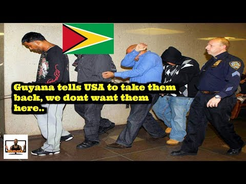 Guyana send US deportees back to USA