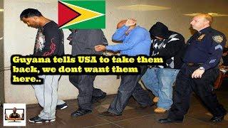 Guyana send US deportees back to USA