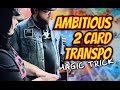 LIVE MAGIC   Ambitious 2 Card Transpo Magic Trick