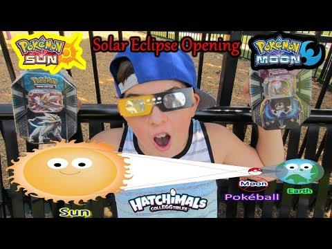 Solar Eclipse Pokemon Opening