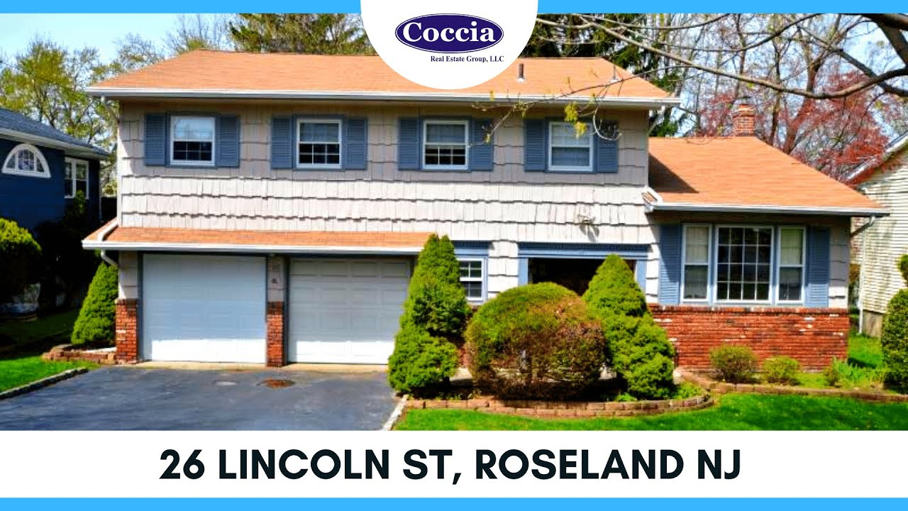 26 Lincoln St | Homes for Sale Roseland NJ | Essex County