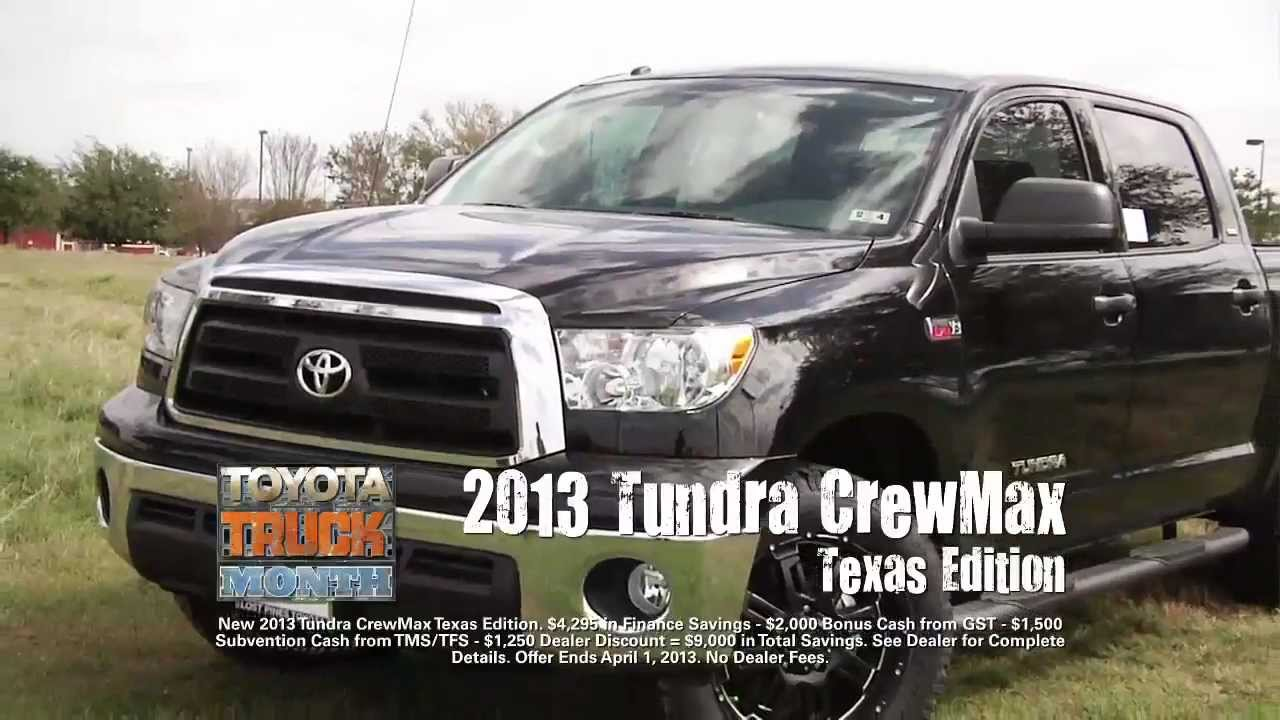 truck month savings at lost pines toyota in bastrop youtube. Black Bedroom Furniture Sets. Home Design Ideas