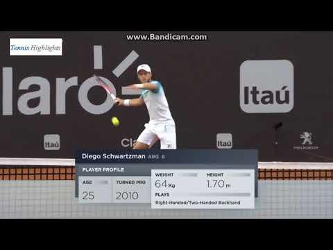 Diego Schwartzman vs Fernando Verdasco Final Río Open 2018