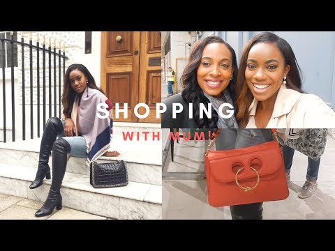 Luxury Shopping With My Mum! | Jade Vanriel