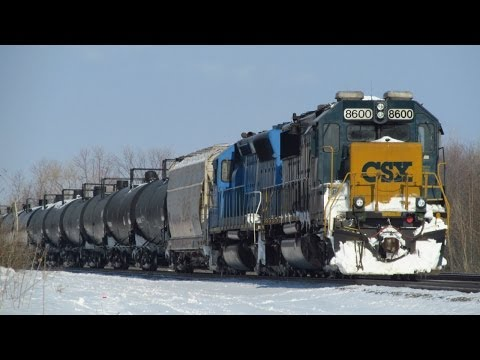 Railfanning After Hamburg Train Show 2/15/14, with a CEFX and Decent NS Power!