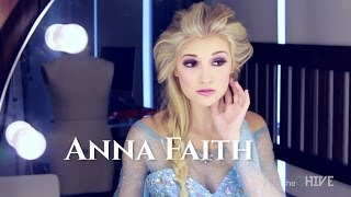 The REAL Elsa from Frozen?  Anna Faith visits theCHIVE