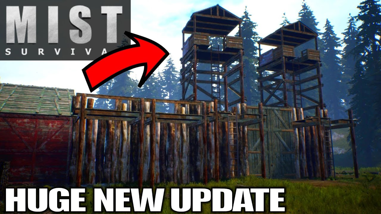 Download Sniper Watchtowers HUGE NEW UPDATE | Mist Survival | Let's Play Gameplay | E16