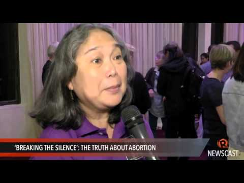 'Breaking the Silence'  the truth about abortion