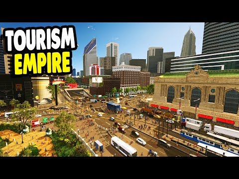 IT'S TIME Building the GREATEST $1,000,000,000 Tourist City Ever | Cities: Skylines Gameplay