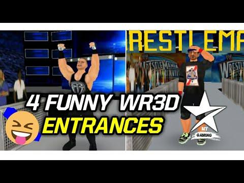 WR3D FUNNY ENTRANCES AND GIMMICK SWAPS | WR3D WWE FUNNY MOMENTS | WR3D MODS | NUNAVUT CULTURE