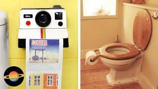 10 najciekawszych uchwytów na papier toaletowy