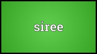 Download lagu Siree Meaning MP3