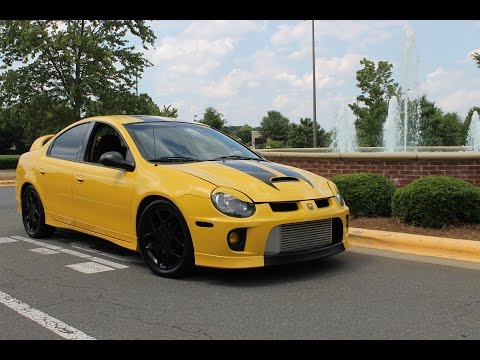 Solar Yellow Dodge Neon SRT-4: '$poolin'