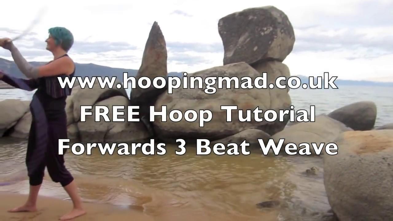 3 beat weave: beginner twin hoop tutorial youtube.
