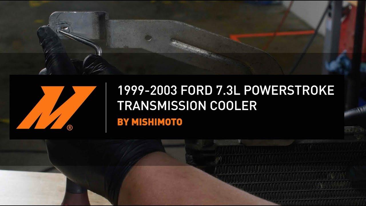 1999-2003 7 3L Power-stroke Transmission Cooler Installation Guide by  Mishimoto
