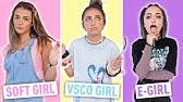 TikTok Girls In Real LifeVSCO Girl, Soft Girl, E-Girl