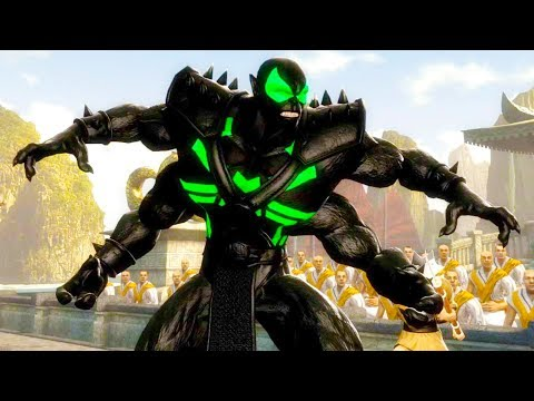 Mortal Kombat Komplete Edition - Big Time Spider-Man Kintaro & Flash Tag Ladder Gameplay Playthrough thumbnail